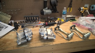 assembled calipers